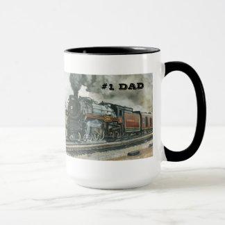 Caneca do trem para o pai #1