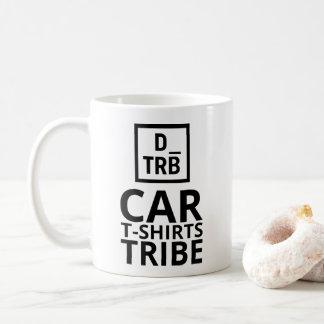 Caneca do tribo dos t-shirt do carro