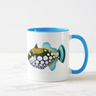 Caneca do Triggerfish do palhaço