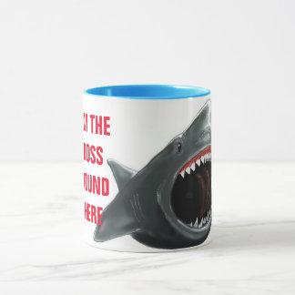 Caneca do tubarão