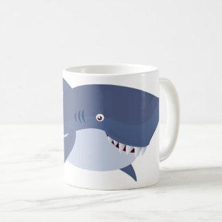 Caneca do tubarão do bebê