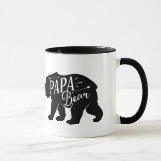 Caneca do urso da papá, copo do urso da papá, pai