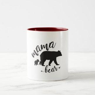 Caneca do urso do Mama