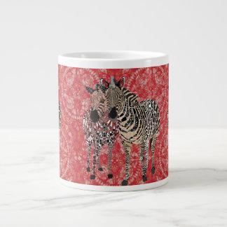 Caneca do vermelho de Zeb & de Zenya Jumbo Mug