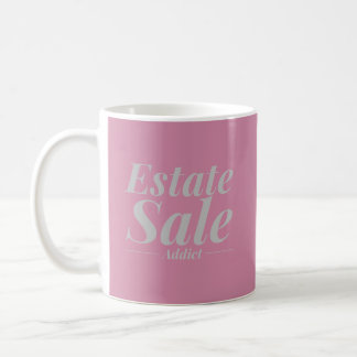 Caneca do viciado da venda da propriedade