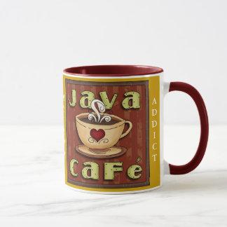 Caneca do viciado do café