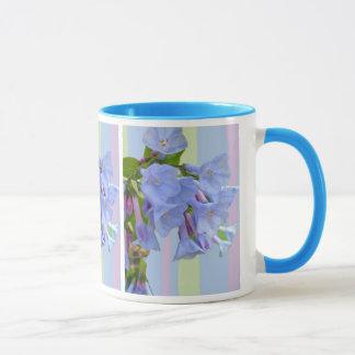 Caneca do Wildflower dos Bluebells de Virgínia