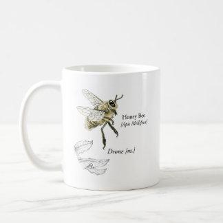 Caneca do zangão da abelha do mel de MABA