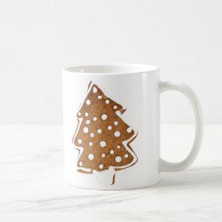Caneca doce do biscoito do pinheiro do Natal