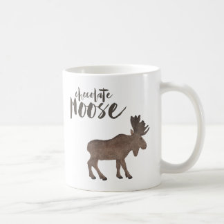 Caneca dos alces do chocolate