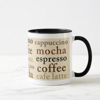 Caneca dos amantes do café