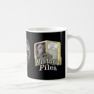 Caneca dos arquivos de história