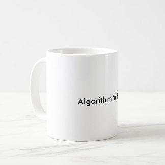Caneca dos azuis de n do algoritmo '