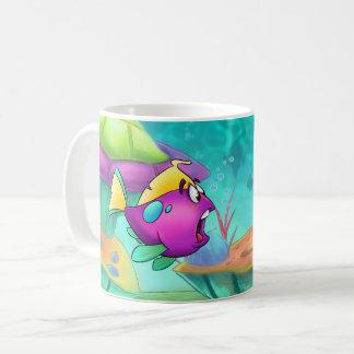 Caneca dos desenhos animados de FriendFish