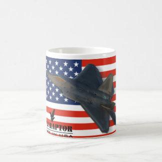 Caneca dos EUA do raptor F-22