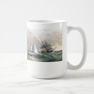 Caneca dos iceberg do mar do navio de tosquiadeira