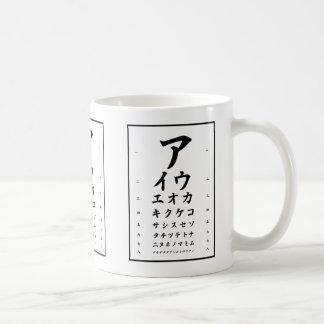 Caneca dos Katakana