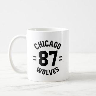 Caneca dos lobos de Chicago