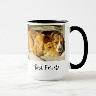 """Caneca dos """"melhores amigos"""""""