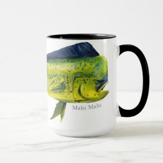 Caneca dos peixes de Mahi Mahi