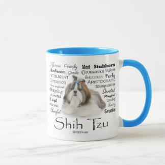 Caneca dos traços de Shih Tzu