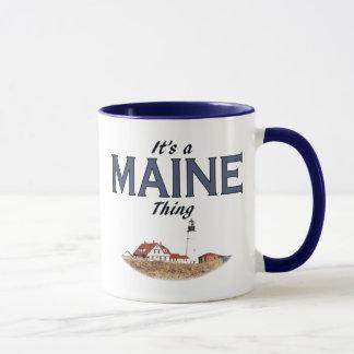 Caneca É uma coisa de Maine - luz principal de Portland