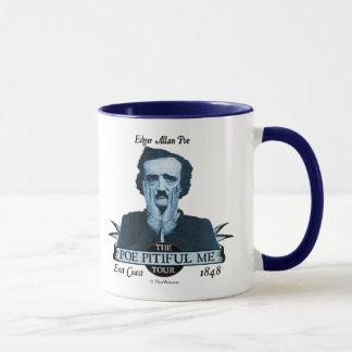 """Caneca Edgar Allan """"ponto de entrada lamentável mim"""""""