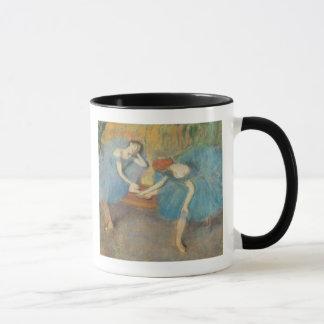 Caneca Edgar Degas | dois dançarinos em repouso,