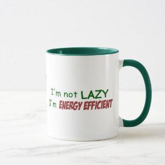 Caneca eficiente da energia - luz