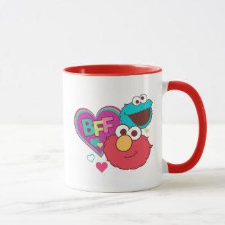 Caneca Elmo & monstro do biscoito - BFF