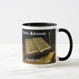 Caneca Elogio Jehovah - a bíblia Van Gogh
