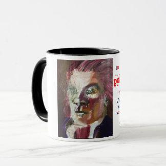 """Caneca Em um copo de café de """"Thomas Jefferson"""" do"""