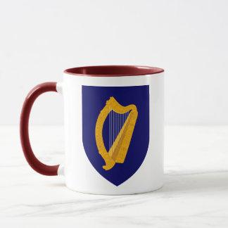 Caneca emblema de ireland