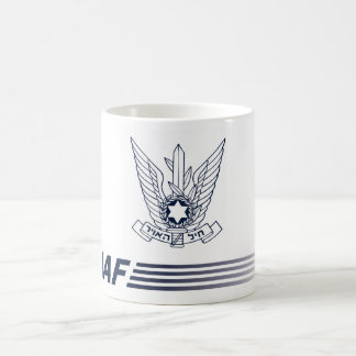 Caneca emblema IAF - ISRAELI AIR FORCE