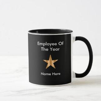 Caneca Empregado do prêmio do ano