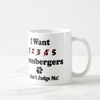 Caneca engraçada de Leonberger