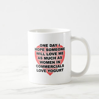 Caneca engraçada do Yogurt do amor das mulheres