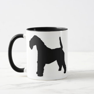 Caneca Engrenagem do Fox Terrier Wirehaired