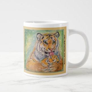 caneca enorme do tigre 20oz
