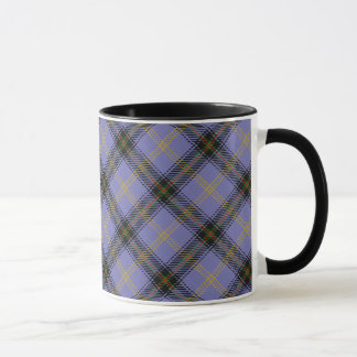 Caneca Caneca escocesa do Tartan do clã de Bell