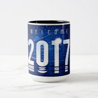 Caneca especial do Dois-Tom do ano novo