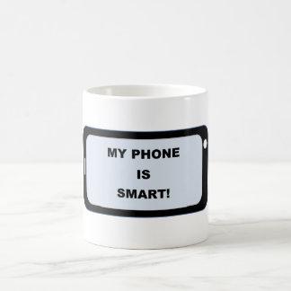 Caneca esperta do telefone
