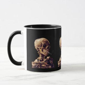 Caneca Esqueleto de fumo por Van Gogh