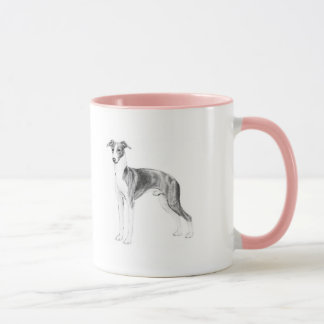 Caneca Estilo do galgo italiano