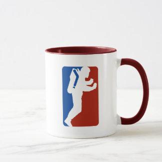 Caneca Estilo do logotipo da liga