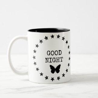 Caneca estrelado da boa noite