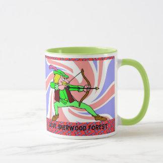 Caneca Eu amo a floresta de Sherwood