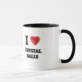 Caneca Eu amo as bolas de cristal