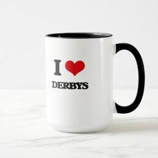 Caneca Eu amo Derbys