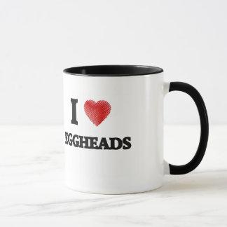 Caneca Eu amo EGGHEADS